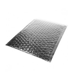 180mm x 250mm Silver Padded Bubble Mailing Bag (Pack of 100)